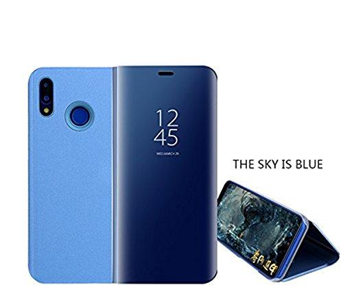 Funda Huawei P20, Carcasa Huawei P20 Lite Espejo Funda Mirror Flip Case Ultra...