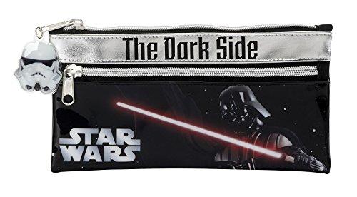 Star Wars – Portatodo con Dos Cremalleras, 22 x 11 cm (SAFTA 811501029)