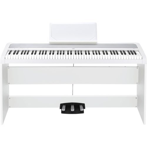 'Korg b1spwh Concert de Piano'Slim Line 8 sons, speaker System avec Technologie motional Feedback