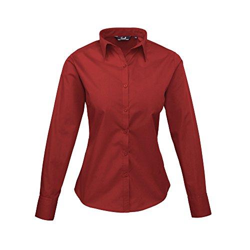 Premier - Camicia -  donna Burgundy