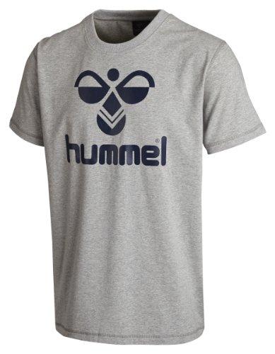 Hummel, Maglietta Uomo Classic Bee Grigio (Grey Melange)
