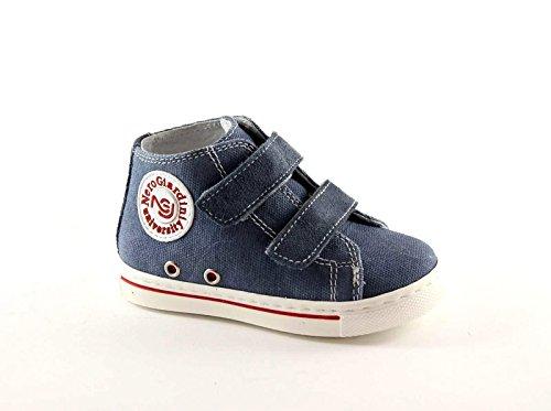 NERO GIARDINI JUNIOR chicots 23490 chaussures de bébé bleu mi baskets 21