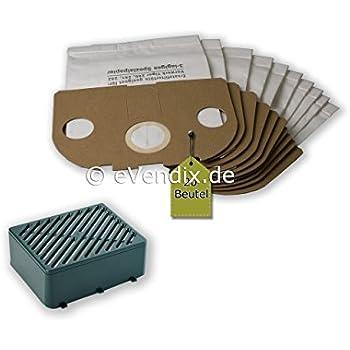 12 tlg Spar Angebot 10 Staubsaugerbeutel Filtertüten braun