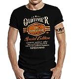 Geschenk T-Shirt zur Rente und zum Ruhestand: Oldtimer 2XL