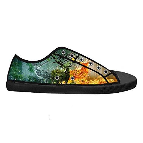 Dalliy kunst hirsch Men's Canvas shoes Schuhe Footwear Sneakers shoes Schuhe C