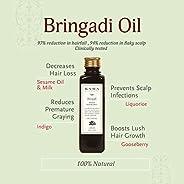 Kama Ayurveda Bringadi Intensive Hair Treatment Oil, 8.4 Fl Oz
