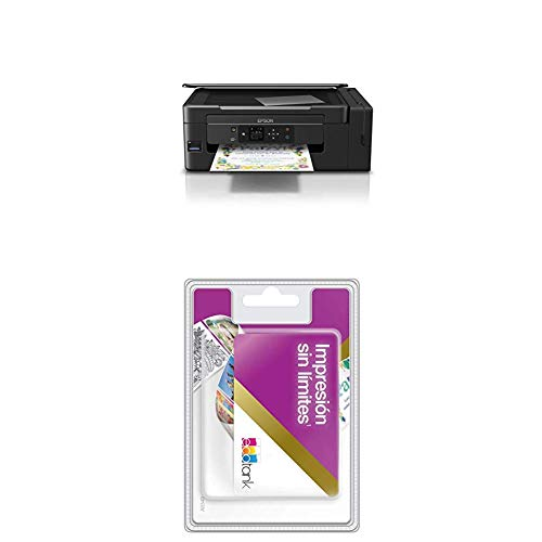 EcoTank ET-2650 + Tarjeta tinta ilimitada
