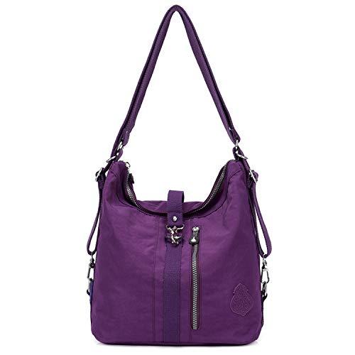 Outreo Bolso Bandolera Mujer Bolsos de Moda Impermeable Mochilas Bolsas de Viaje Sport Messenger Bag...
