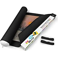 Lavievert Black Felt Mat for Puzzle Storage Puzzles Saver, Long Box Package, No Folded Creases, Environmentally Friendly by Lavievert