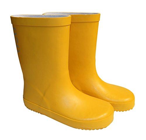 Mikk line-uni wellies solid bottes en caoutchouc jaune Jaune - Sunflower