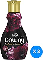 Downy Perfume Collection Concentrate Fabric Softener Feel Elegant, 3 x 880ml
