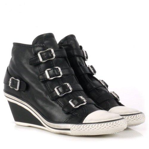 Ash , Baskets mode pour femme Noir