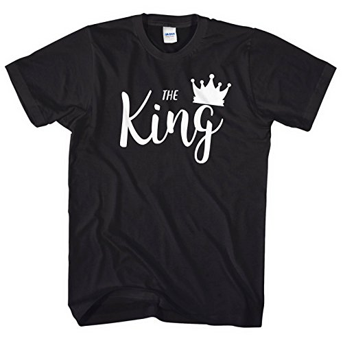 The King T-Shirt His Queen T-Shirt Valentines Day Couple