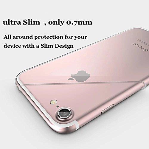 iPhone 6s Plus Hülle, iPhone 6 Plus Hülle, Vandot iPhone 6s Plus / 6 Plus Schutzhülle Diamant Bling Glitzer Transparent Muster Handyhülle Thin Pattern TPU Silikon Weich Case Cover Glänzend Malerei Dur Color 34