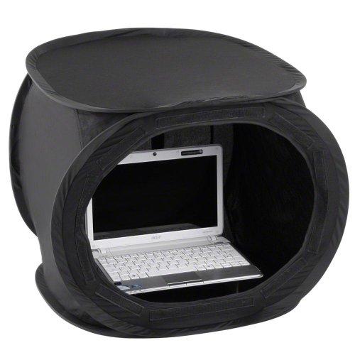Walimex Pop-Up Laptop-Zelt (50x50x50 cm) schwarz