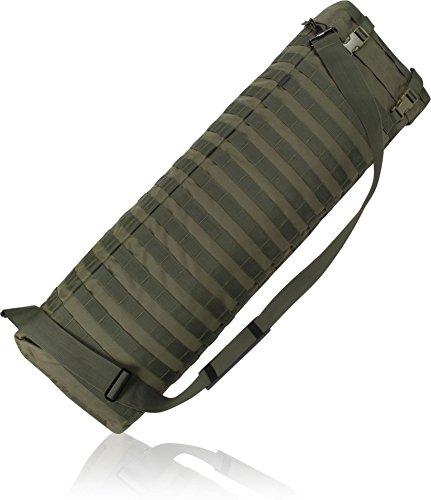 Gepolsterte Gewehrtasche oder -Rucksack für Langwaffen OLIV