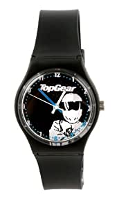 Top Gear - TG20 - Montre Garçons - Quartz - Analogique - Bracelet Plastique Noir