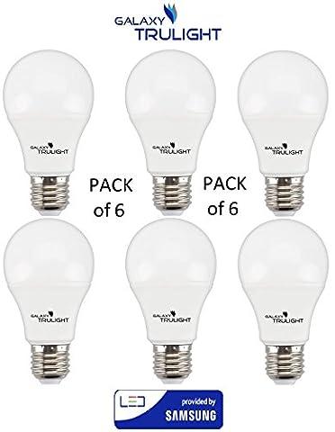 Packung mit 6 - 15W LED-Lampe (100W-Äquivalent) - Galaxy Trulight LED von Samsung zur Verfügung gestellt