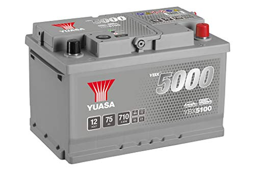 Yuasa YBX5100 Batteria Avviamento, Silv