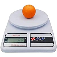 Ionix Kitchen Weighing Scale Digital, Digital Weight Machine for Kitchen 10 kg, Multipurpose Portable Electronic Digital Weighing Scale Weight Machine (10 Kg - with Back Light)