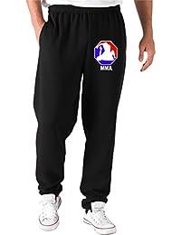 Cotton Island - Pantalones Deportivos TR0096 MMA 8-eck T-Shirt Boxen, Muay Thai, UFC, Kampfsport, Hardcore