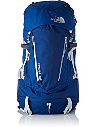 The North Face W Terra 55, Mochila para Mujer, (Dark Blue/White), 22x24x45 cm