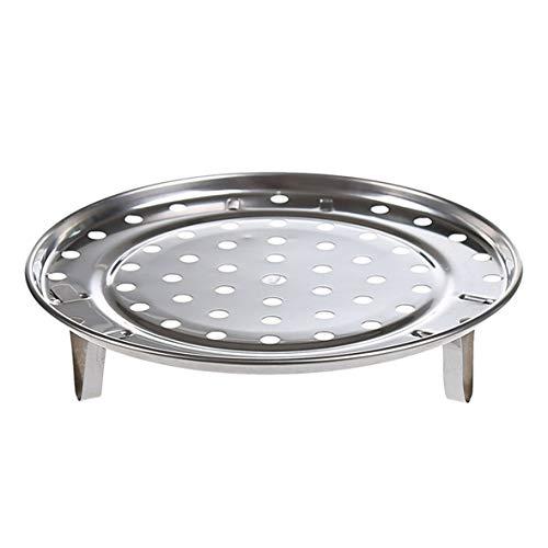 Heaviesk Multifunktionale Home Kitchen Runde Form Edelstahl Steamer Rack Einfügen Lager Topf Dampfbehälter Stand Kochgeschirr Werkzeug (Einfügen Stand)