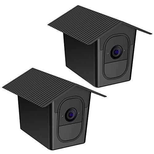 TIUIHU Wetterfeste Schutzhülle für Arlo Pro, Arlo Pro 2, leicht und tragbar, schwarz