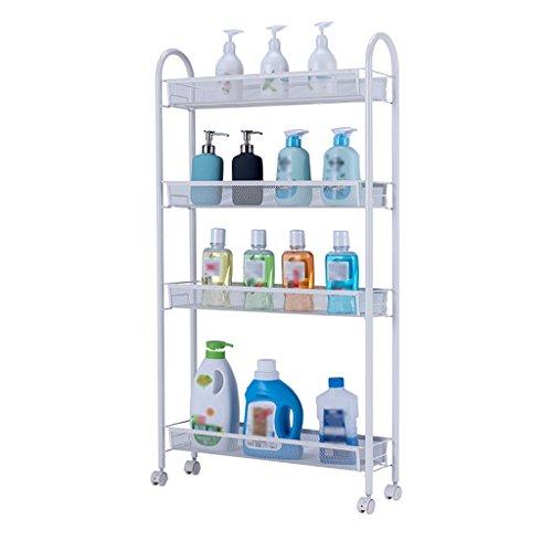 GYY Regal kann Küche Bad Regal Kühlschrank Spacer Ablagefach bewegen -