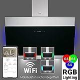 hotte aspirante 80cm hotte murale Smart App RGBW éclairage tactile écran KKT KOLBE