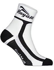 Rogelli Kid 's RCS calcetines, calcetines, Infantil, color blanco/negro, tamaño Size 27 - 30