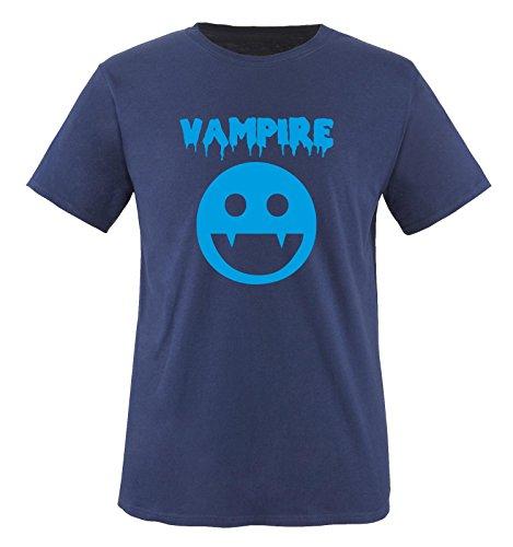 VAMPIRE KOSTÜM - Kinder T-Shirt Navy/Blau 152-164
