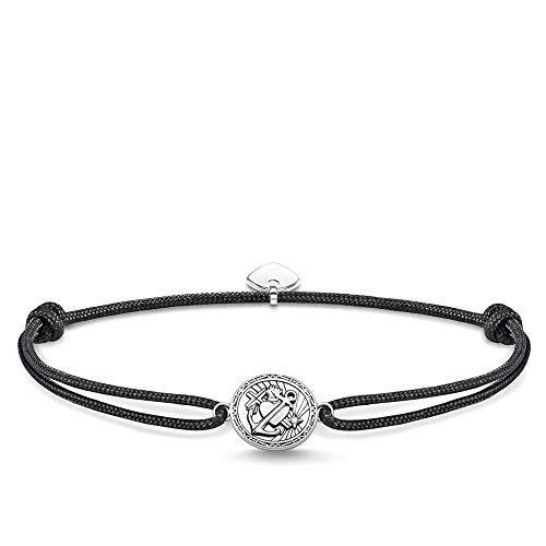 THOMAS SABO Unisex Armband Little Secret Glaube, Liebe, Hoffnung 925er Sterlingsilber, Geschwärzt LS086-889-11