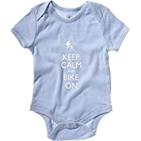 Cotton Island - Body neonato SP0088 Keep Calm and Bike on BMX Maglietta - 24 Bmx