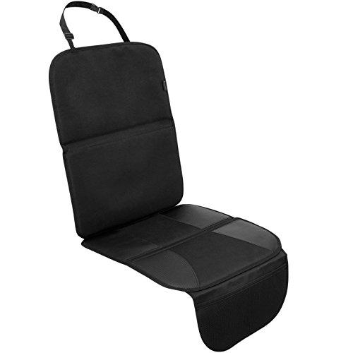 Systemoto Hochwertiger Autositzschoner für Kindersitz - Auto Kindersitzunterlage - Sitzschoner Kinder Autositz Isofix Geeignet - Extra Rutschfeste Autositzauflage zum Schutz der Sitze Line Protector