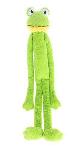 Von Multipet 's Swingin Slevin XXL Oversized 30grün Frosch Plüsch Hundespielzeug -