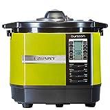 Oursson MP5005PSD/GA Multicuiseur à haute pression, Revêtement anti-adhésif, 5 litres, Vert