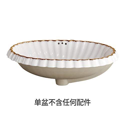 Arbeitsplatte Eitelkeit (dwthh Porzellan Bad Eitelkeit Waschbecken Schüssel Arbeitsplatte Oval Keramik Waschbecken Waschbecken weiße Schale Form)