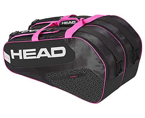 HEAD Schlägertasche Elite Padel Tennis grau/pink, schwarz, S
