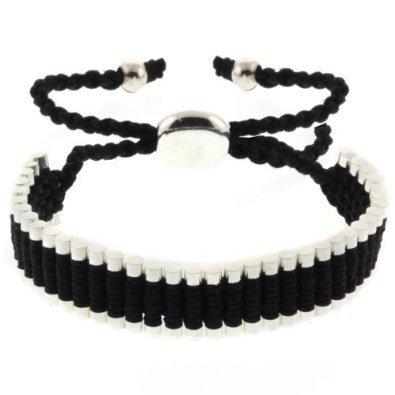 one-direction-bracciale-1d-harry-styles-acciaio-corda-nero