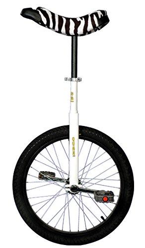 Qu-ax Einrad LUXUS 20 Zoll Radgröße in allen Farben, Farbe:schwarz