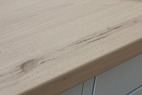 Helles Holz - Resopal Küchenarbeitsplatten (4.1m × 600mm × 38mm)