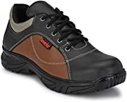 Kavacha Pure Leather Steel Toe Safety Shoe, S71 Size : 8