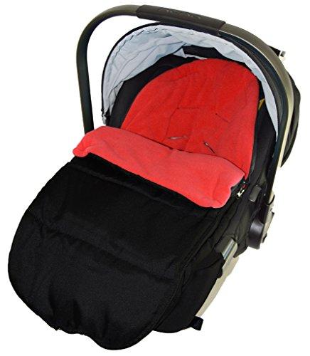 Preisvergleich Produktbild Autositz Fußsack/gemütliche, Zehen kompatibel mit Baby, New Born Autositz Fire Rot