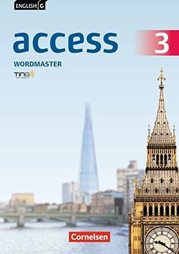 English G Access - Allgemeine Ausgabe / Baden-Württemberg: Band 3: 7. Schuljahr - Wordmaster mit Lösungen: TING-fähiges Vokabelübungsheft