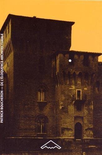 De lloquence architecturale Milan, Mantoue, Urbino (1450-1520)