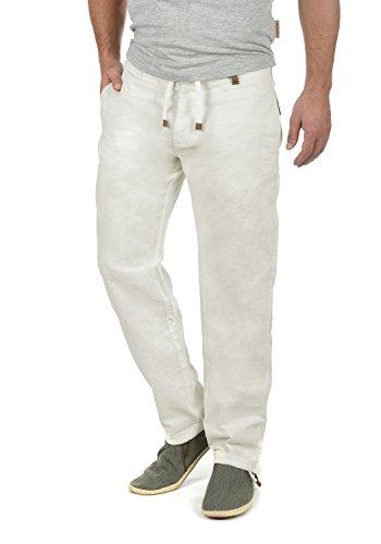 INDICODE Ives - patalón corto para hombre, tamaño:XL;color:Off-White (002)