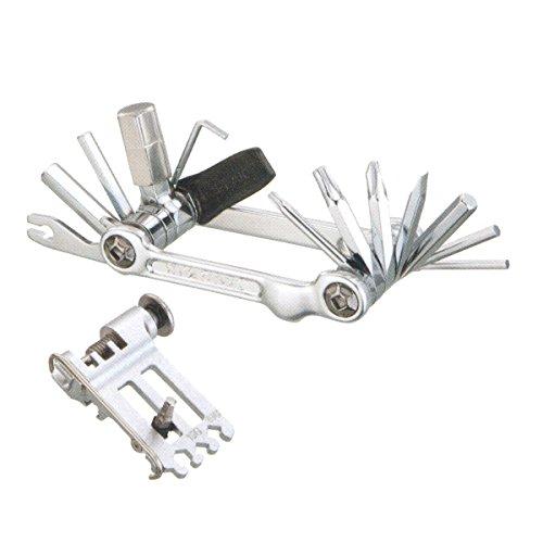TOPEAK Werkzeugset Mini-Faltwerkzeug 20 Pro, silber, TT2536S