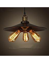 Collector l'Industrie européenne Politique, Lustre, un salon, une chambre, une cuisine, couloir... Lampe LED [Classe d'efficacité énergétique A + +] D360* H190(mm)