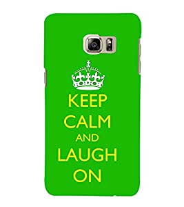 99Sublimation Good Quote on laugh 3D Hard Polycarbonate Back Case Cover for Samsung Galaxy Note5 :: N920G :: N920T N920A N920I